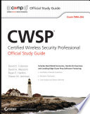 CWSP Certified Wireless Security Professional Official Study Guide