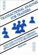 Transactional Analysis for Trainers