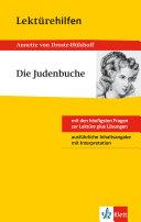 Klett Lektürehilfen Annette von Droste-Hülshoff, Die Judenbuche