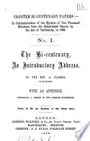 Chester bi centenary papers