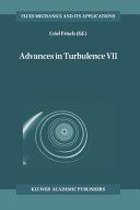Advances in Turbulence Seven