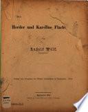 Herder und Karoline Flachsland