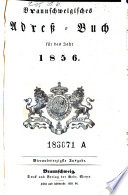 Braunschweigisches Adress-Buch
