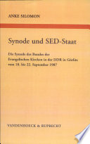 Synode und SED-Staat