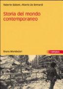Storia del mondo contemporaneo Book Cover