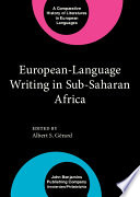 European language Writing in Sub Saharan Africa