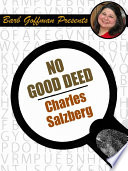 No Good Deed Book PDF