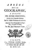 Géographie moderne, 2 tomes