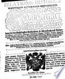 Relationis Historicae Semestralis Autumnalis Continuatio  Jacobi Franci historische Beschreibung der denckw  rdigsten Geschichten  so sich in Hoch und Nieder Teutschland     etc  vor und zwischen j  ngst verflossenen Oster Me   1745 bi   an die Franckfurter Herbst Me   dieses lauffenden 1745 Jahrs     zugetragen  etc