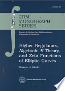 Higher Regulators  Algebraic K theory  and Zeta Functions of Elliptic Curves