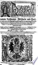Aller des Heiligen Römischen Reichs gehaltenen Reichstäge Abschiede und Satzungen