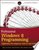 Professional Windows 8 Programming