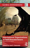 download ebook international organizations as self-directed actors pdf epub