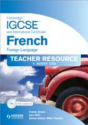 Cambridge IGCSE and International Certificate