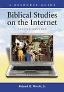 Biblical Studies on the Internet