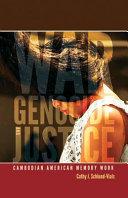 War  Genocide  and Justice
