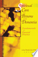 Spiritual Care for Persons with Dementia