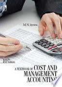 A Textbook of Cost and Management Accounting  10th Edition