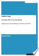 Produkt PR in Social Media