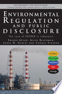 Environmental Regulation and Compulsory Public Disclosure