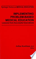 Implementing Problem Based Medical Education book
