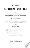 Abth. Von Sebastian Brant bis J. W. Goethe