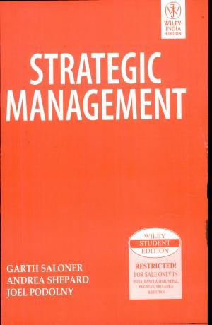 Strategic Management - ISBN:9788126515684