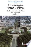 Allemagne  1961 1974