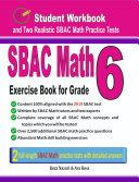 SBAC Math Exercise Book for Grade 6