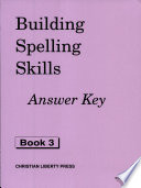 Building Spelling Skills 3 Answer Key