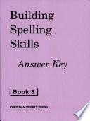 Building Spelling Skills 3 Answer Key