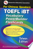 TOEFL IBT Vocabulary: For Chinese Speakers