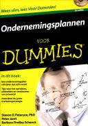 Ondernemingsplannen Voor Dummies