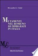 Mutamenti nel romeno di immigrati in Italia
