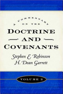 A Commentary on the Doctrine and Covenants