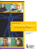 Anatomy of a Mentoring Program for New Special Education Teachers