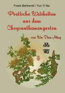 Poetische Weisheiten aus dem Chrysanthemengarten
