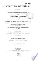 Memoirs Of India