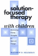 Solution focused Therapy with Children