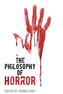 download ebook the philosophy of horror pdf epub