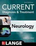 Current Diagnosis Treatment Neurology Third Edition