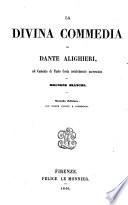 La divina commedia di Dante Alighieri  col comento di Paolo Costa notabilmente accresciuto da Brunone Bianchi