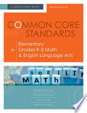 Common Core Standards for Elementary Grades K 2 Math   English Language Arts