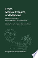 Ethics Medical Research And Medicine