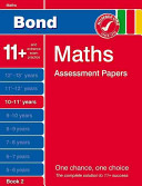 Bond Maths Assessment Papers 10-11+ Years