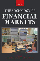 The Sociology of Financial Markets