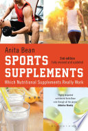 Sports Supplements book