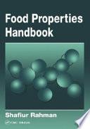 Food Properties Handbook book
