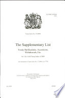The Supplementary List of Treaty Ratifications, Accessions, Withdrawals, Etc 7779 Isbn 9780101777926 On Cover