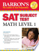 Barron s SAT Subject Test Math Level 1